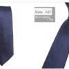 Cravata barbati office albastra fata