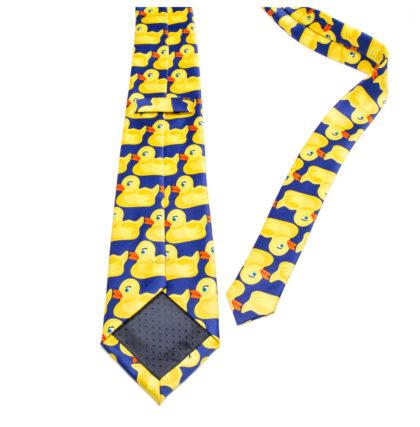 Cravata deosebita barbati imprimeu ratusca sus
