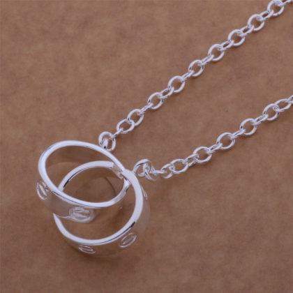 Lantisor argint pandantiv inel sus