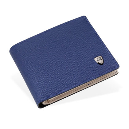 Portofel elegant barbati albastru R