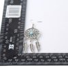 Cercei argint model vintage dimensiuni