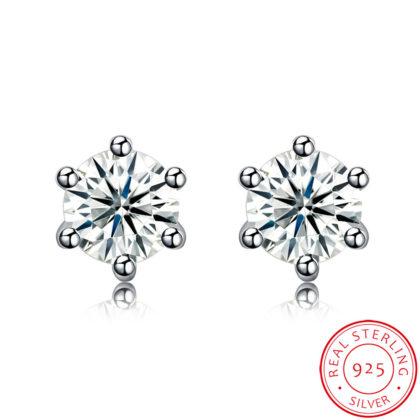 Cercei eleganti argint 925 mici zirconiu