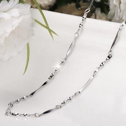 Colier Argint 925 Water drop detalii