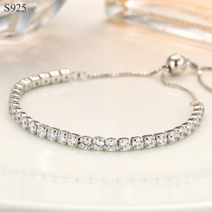 Bratara eleganta argint 925 cristale zirconiu
