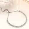 Bratara eleganta argint 925 cristale zirconiu profil