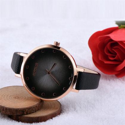 Ceas de mana Oktime negru profil