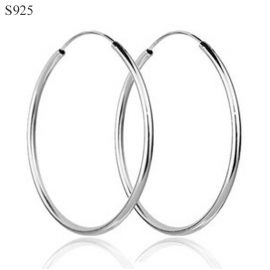 Cercei cercuri argint 925 mari