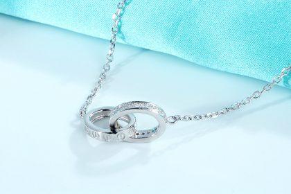 Lantisor argint 925 pandantiv sfere zirconiu sus