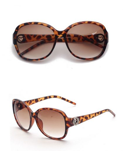 Ochelari dama Panddog leopard print