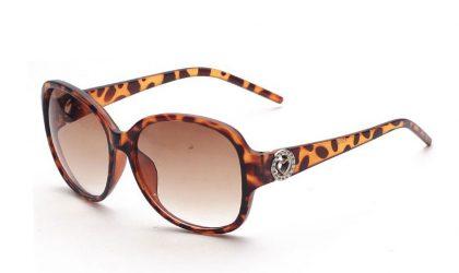 Ochelari dama Panddog leopard print profil