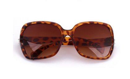 Ochelari de soare leopard print fata
