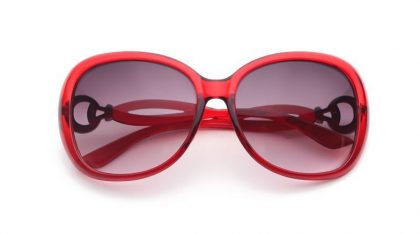 Ochelari Panddog rame rosii fata