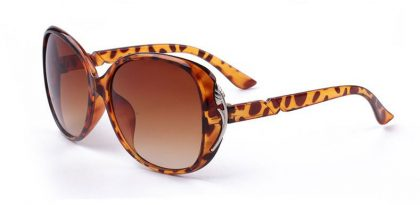 Ochelari vintage Panddog leopard print fata
