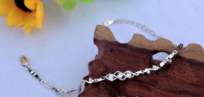 Bratara argint 925 eleganta cu zirconiu sus