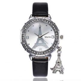 Ceas curea neagra Eiffel Tower