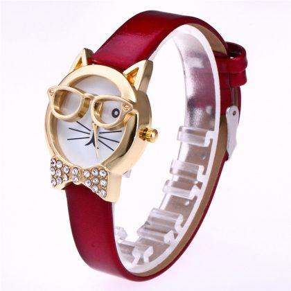 Ceas de mana bordo cadran pisicuta profil