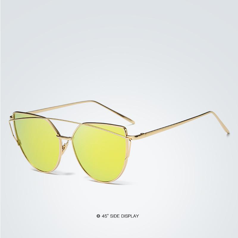 Ochelari de soare rame si lentile aurii ProudDemon