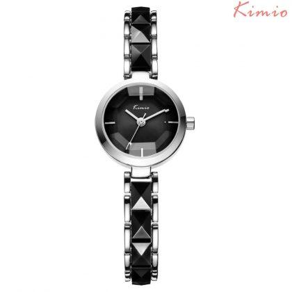 Ceas de mana elegant negru Kimio