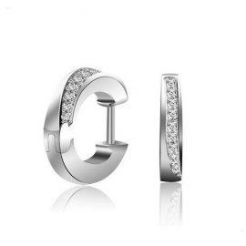 Cercei eleganti mici argint 925 zirconiu