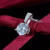 Set argint 925 elegant colier si cercei zirconiu colier