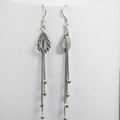 Cercei argint 925 model para expusi