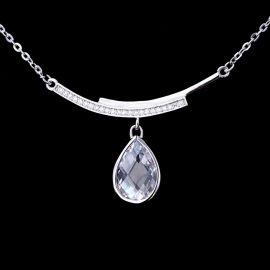 Colier argint 925 elegant zirconiu