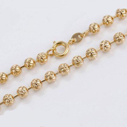 Colier bilute placat aur inchizatoare