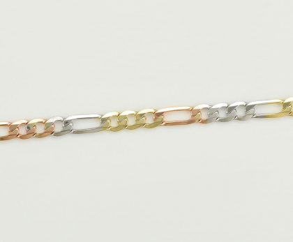 Colier elegant placat aur multicolor fata
