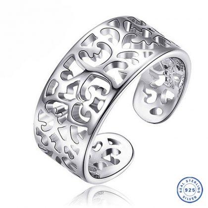 Inel ajustabil argint 925 lat