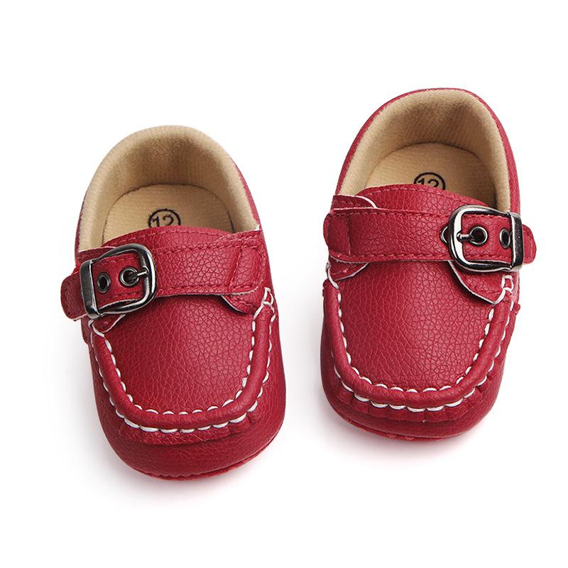 Pantofi fetite rosii 0-6 luni