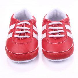 Pantofi sport rosii 0-6 luni