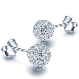 Cercei bilute argint 925 zirconiu