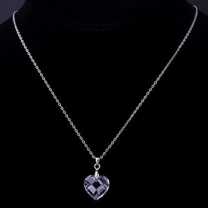 Colier argint 925 cristal Quartz model