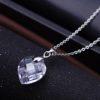 Colier argint 925 cristal Quartz sus