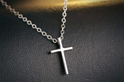 Colier argint 925 pandantiv cruciulita fata