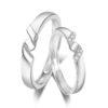 Inele de logodna ajustabile argint 925