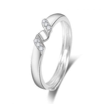 Inele de logodna ajustabile argint 925 ea