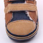 Pantofi baieteti maro 0-6 luni fata
