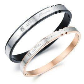 Bratari cuplu stainless steel
