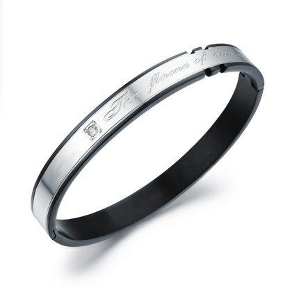 Bratari cuplu stainless steel el