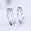 Inele de logodna ajustabile argint 925 inimioare fata