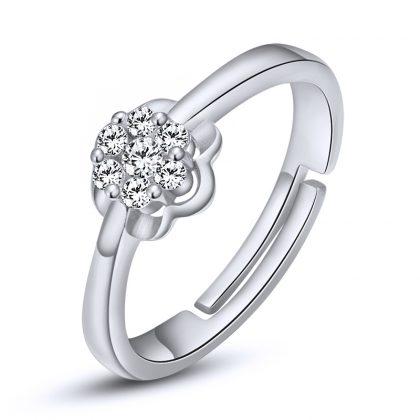 Inel argint 925 floricica zirconiu