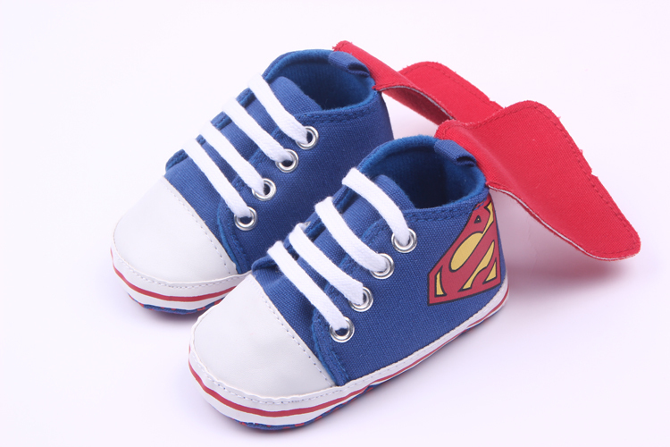 Pantofi sport superman albastrii 0-6