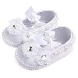 Pantofi fetite botez 0-6 luni
