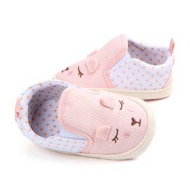 Pantofi fetite roz 0-6 luni