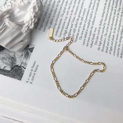 Bratara eleganta argint 925 placata aur profil