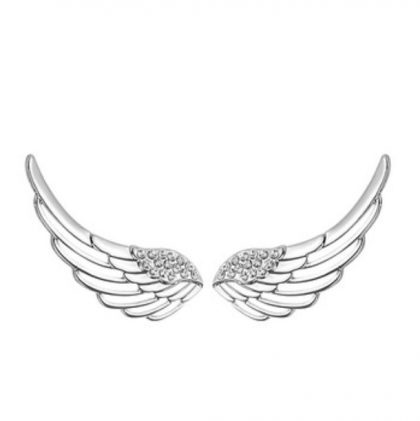 Cercei argint 925 aripa inger