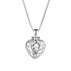 Colier inimioara deosebita argint 925