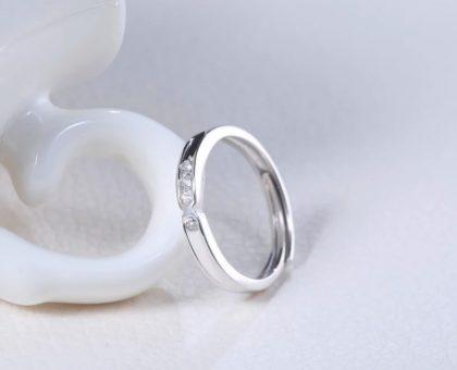 Inele cuplu argint 925 zirconiu ea