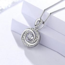 Lantisor deosebit argint 925 zirconiu